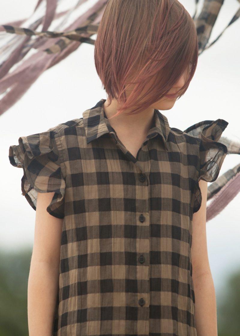 We are all SS21 -sukienka koszulowa khaki