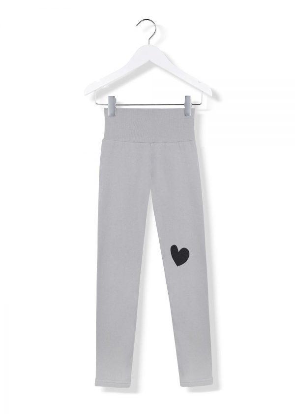 black heart leggings