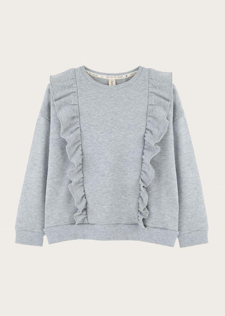bluza z falbankami Grey Cloud