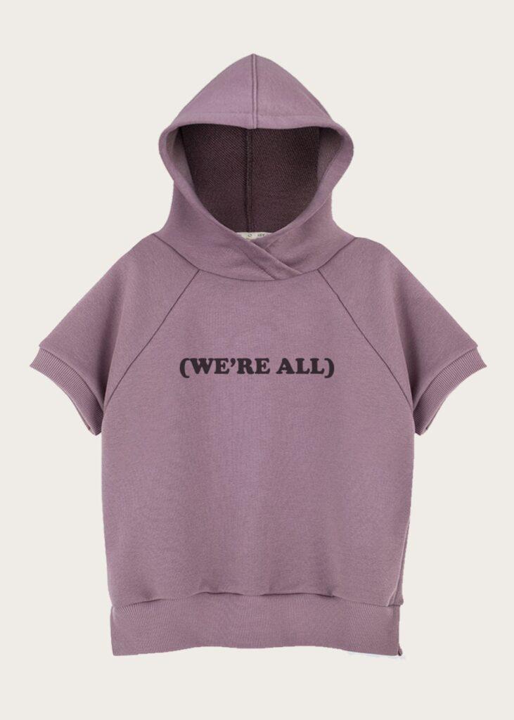 bluza z kapturem WE ARE ALL