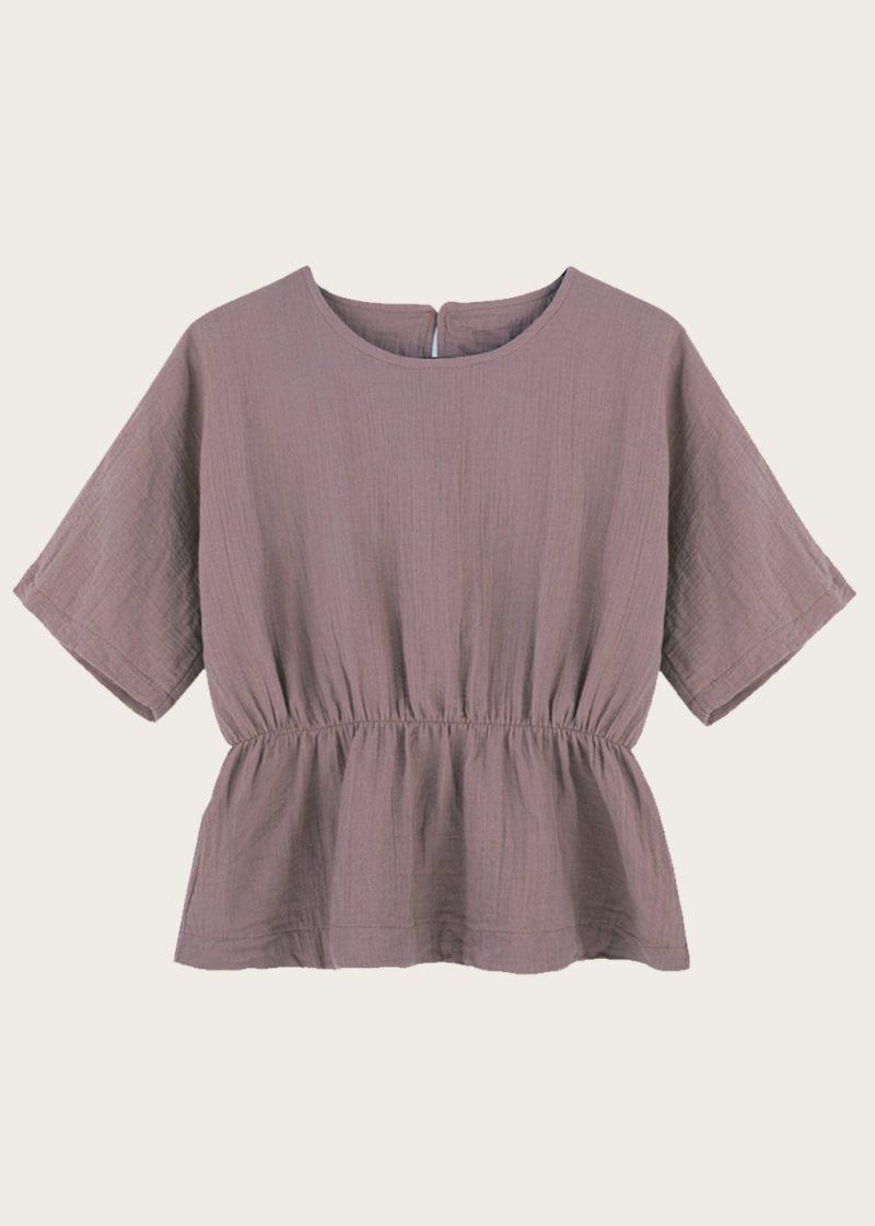 bluzka ściągana w pasie Foggy Day