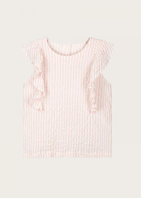 bluzka z falbankami Rose Pier