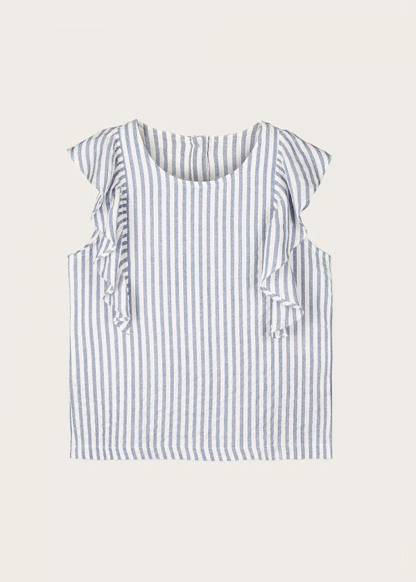 bluzka z falbankami Saint-Tropez