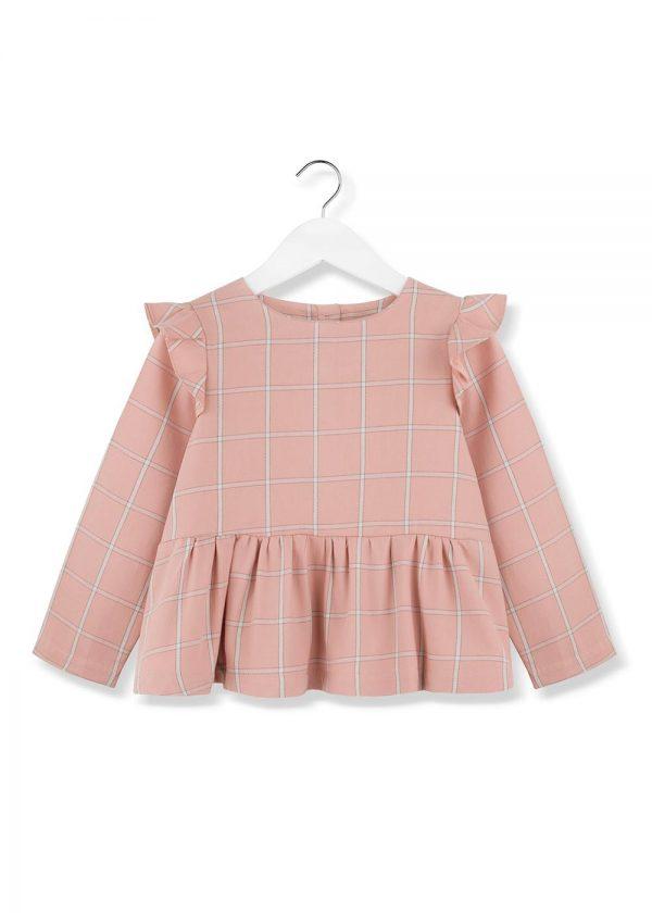 bluzka -dziewczęca-flanelowa-flannel-blouse