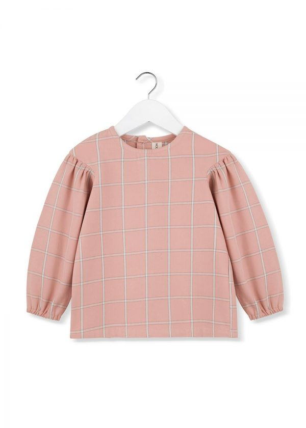 bluzka-flanelowa-dziewczęca-flannel-blouse-pure-cotton