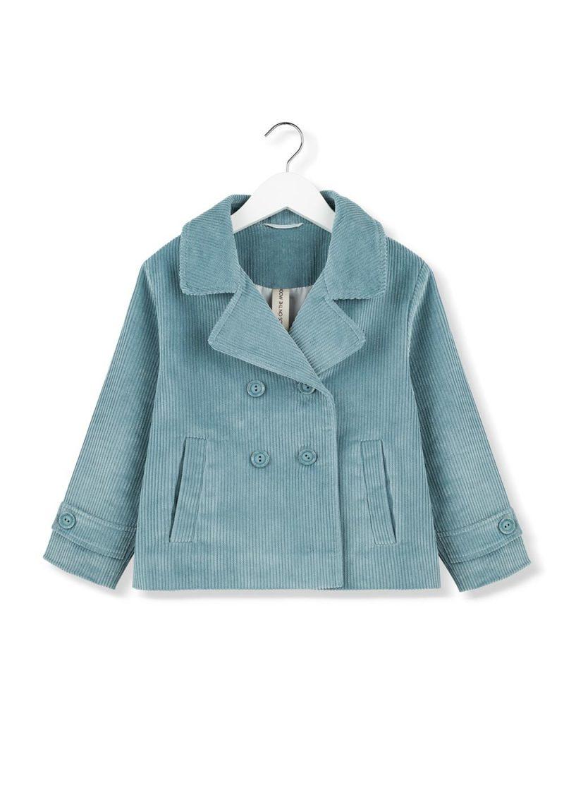 cord sky pea jacket