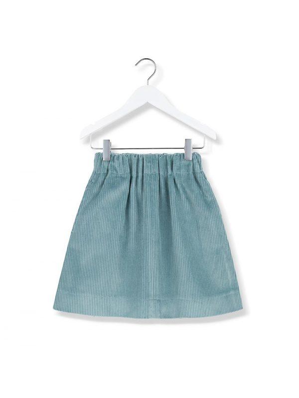 cord sky skirt