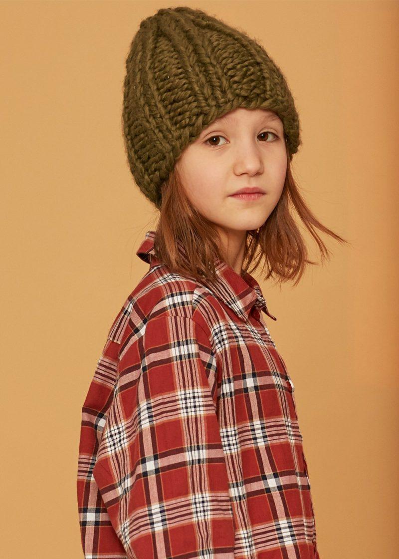 czapka khaki