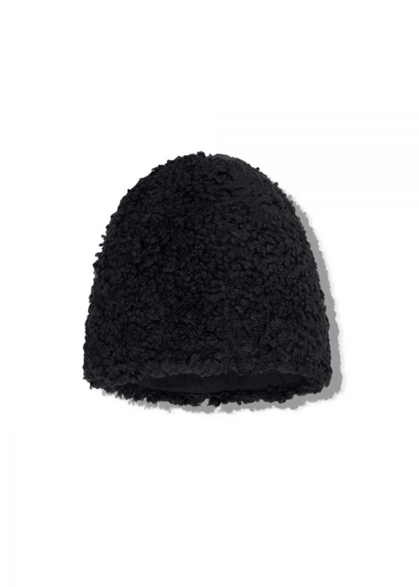 gerda faux fur cap black