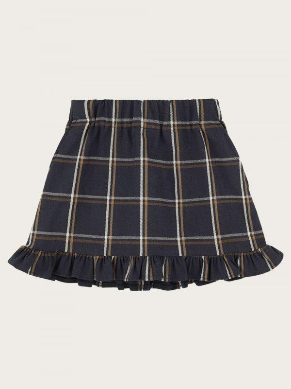 spódnica-w-krate-bawełna;plaid-skirts