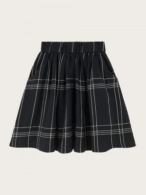 spódniaca-w-krate;plaid-skirt