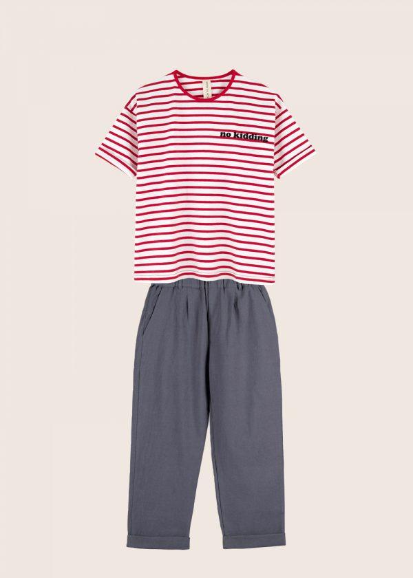 Kids on the Moon - zestaw t-shirt i spodnie