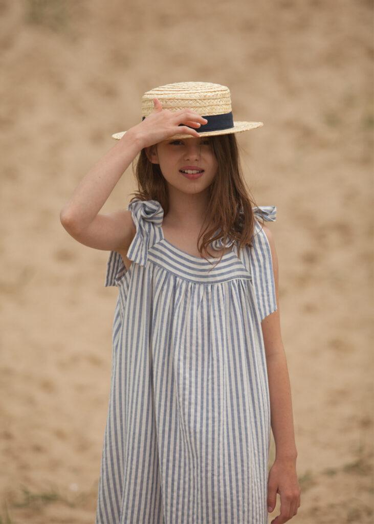 summer dress, stripes, stripped dress