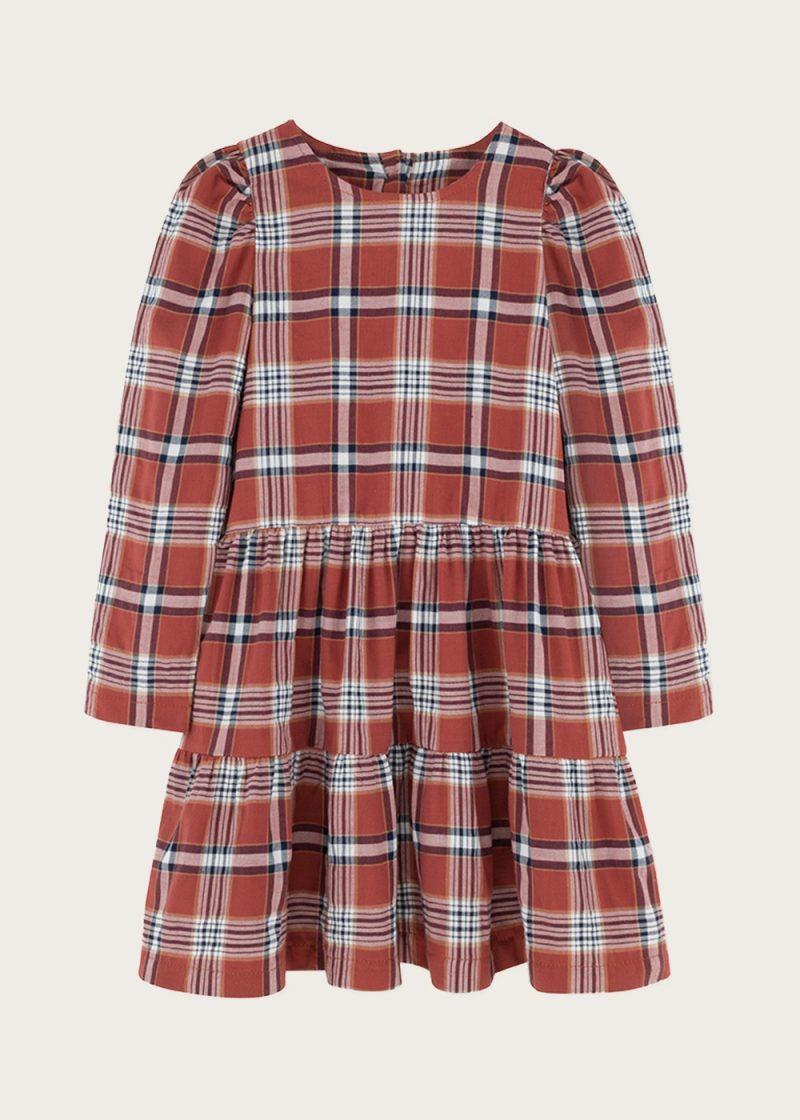 plaid-dress;organic-cotton;