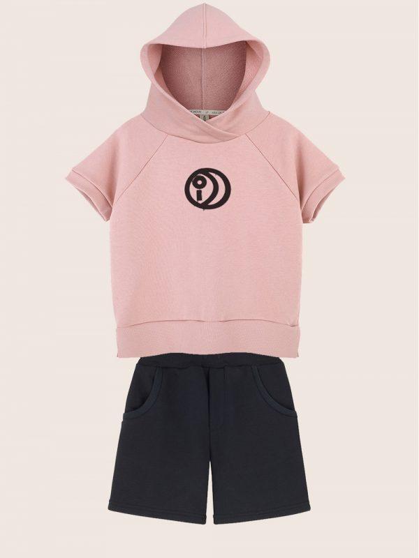 Kids on the Moon - zestaw bluza i szorty