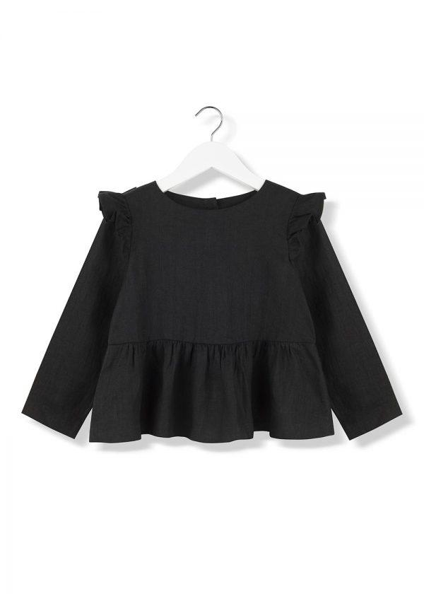 lava frill blouse