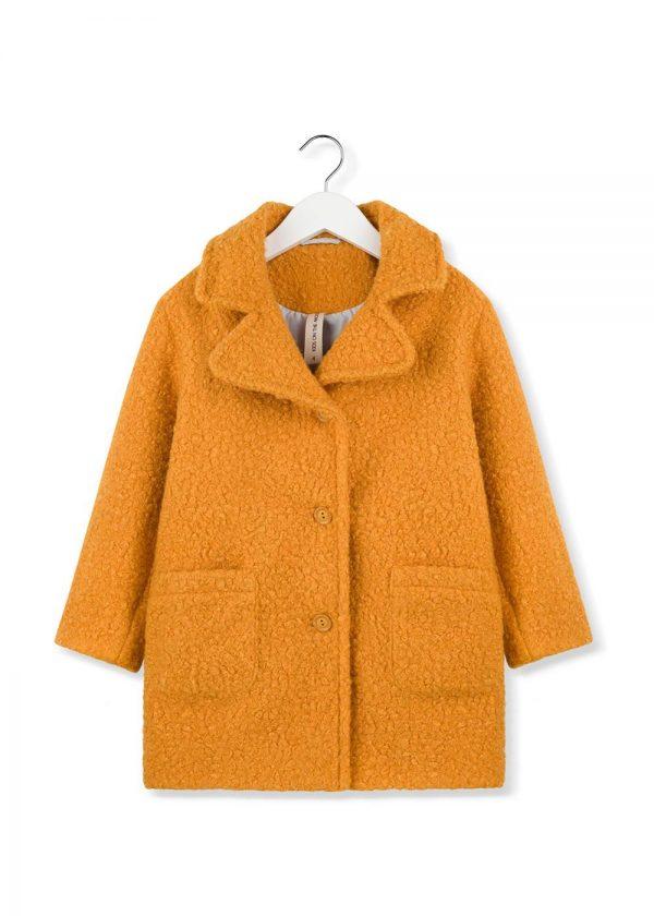 mustard moss coat