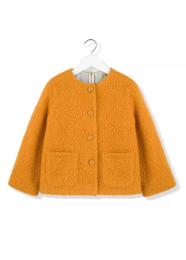 mustard moss jacket