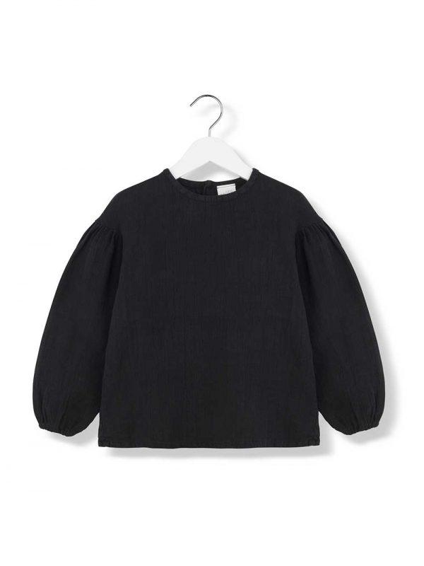 ophelia black blouse