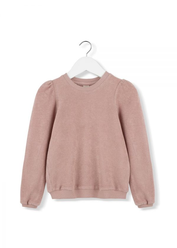 pink puff top