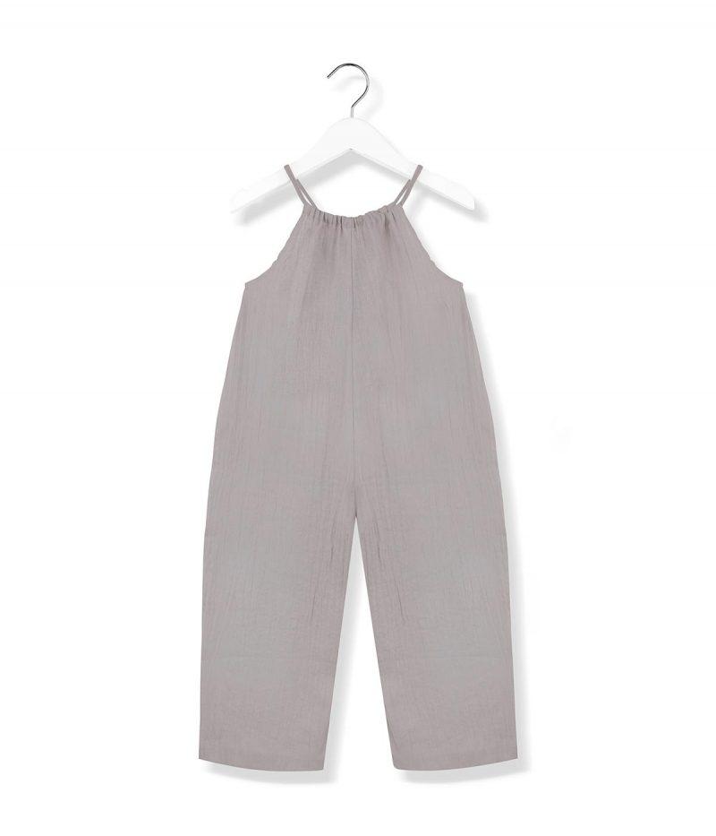playful jumpsuit grey