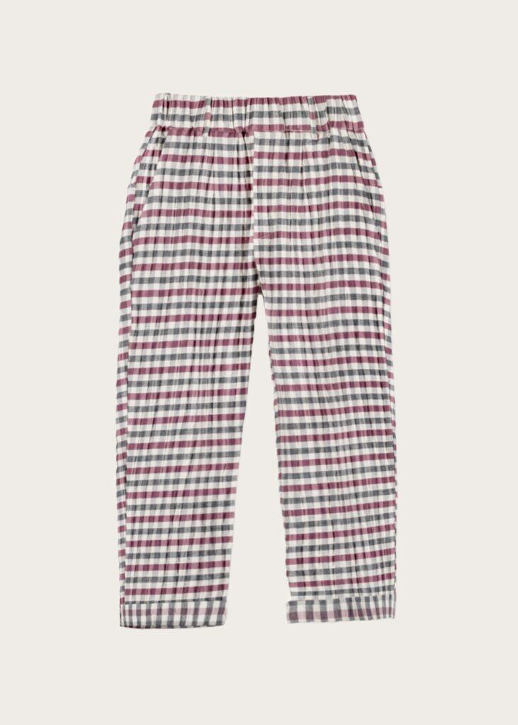 spodnie Burgundy