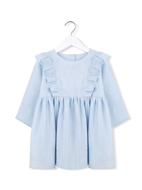 sukienka z falbankami zenith