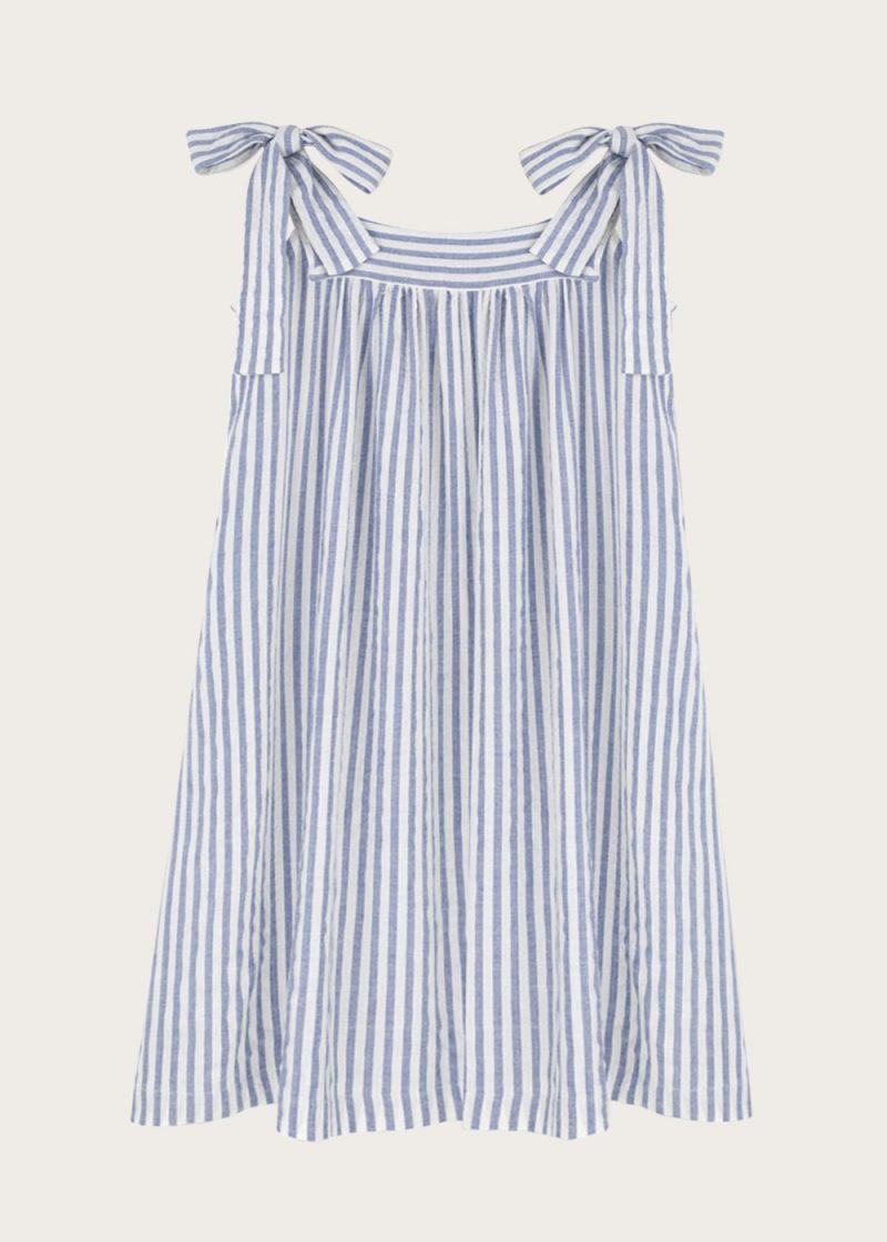 sukienka z kokardkami Saint-Tropez
