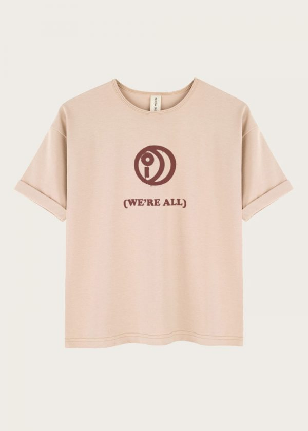 WE ARE ALL Blink Sand T-shirt