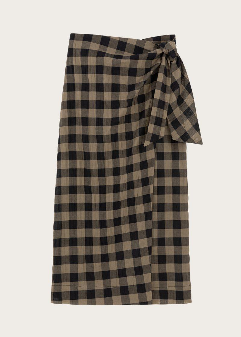 Mama club - spódnica khaki