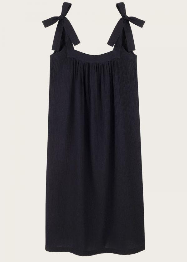 Sukienka z wiązaniem Noir