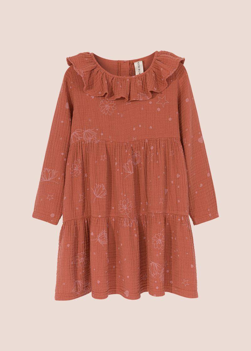 Starflower collar dress ginger