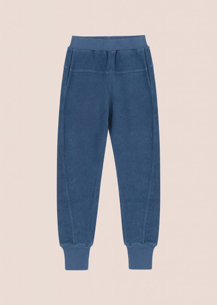 spodnie Leo niebieskie