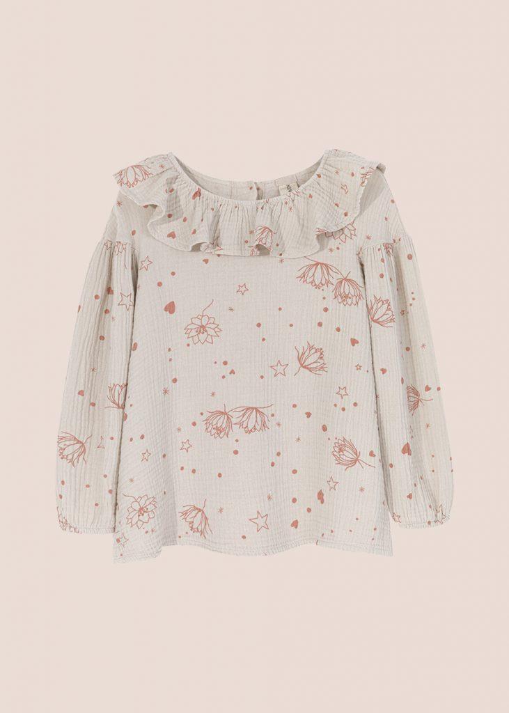 bluzka Starflower kremowa