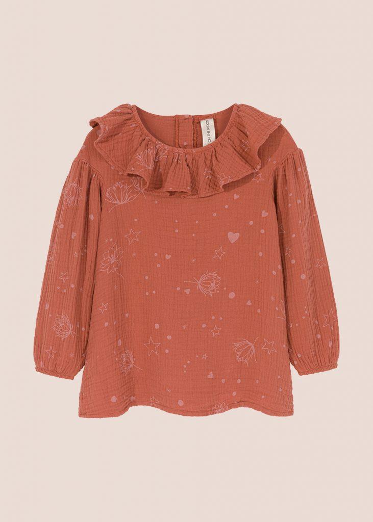 bluzka Starflower ruda