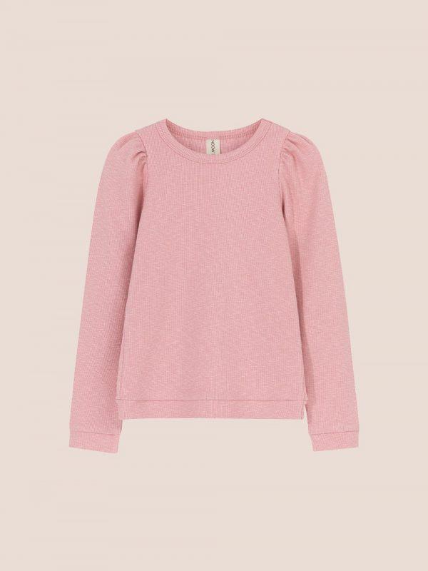 Lena puff top pink