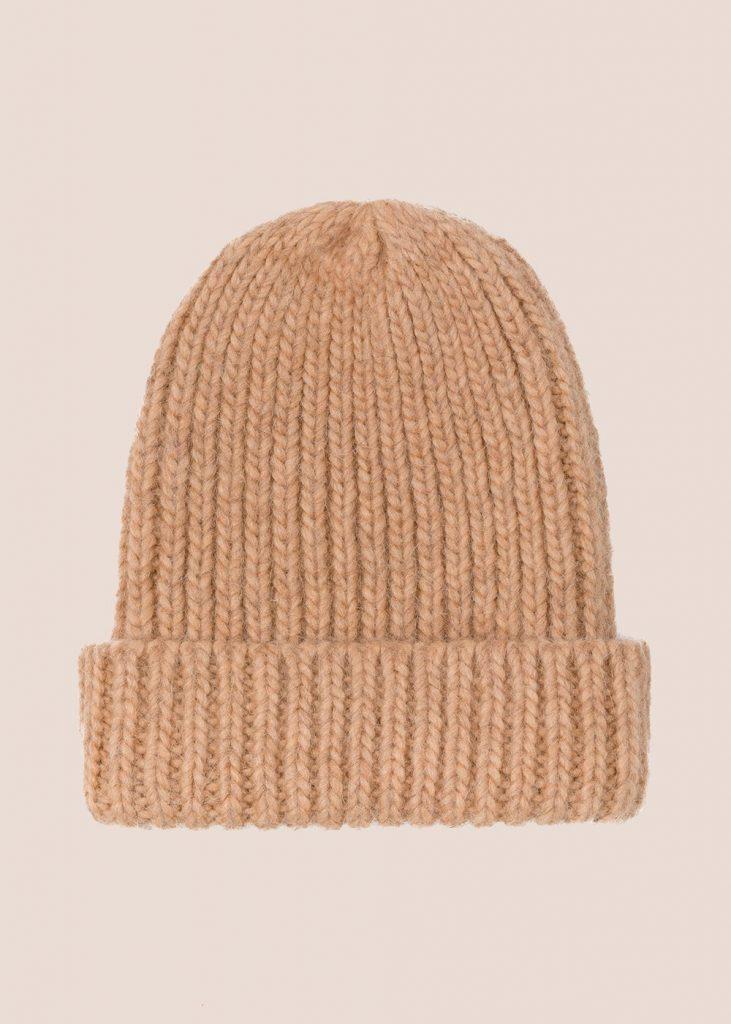czapka Little Bear karmelowa