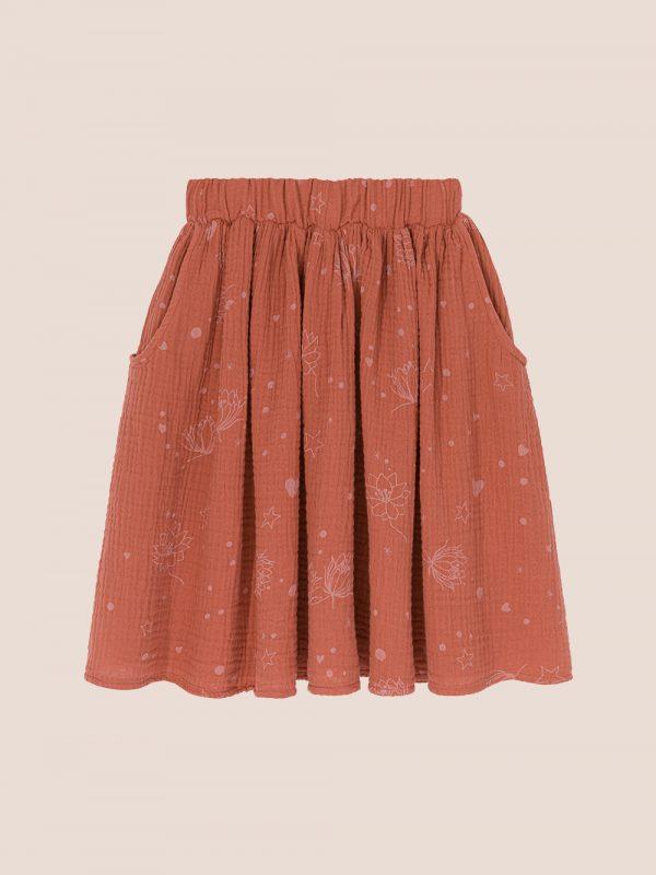 Starflower skirt ginger
