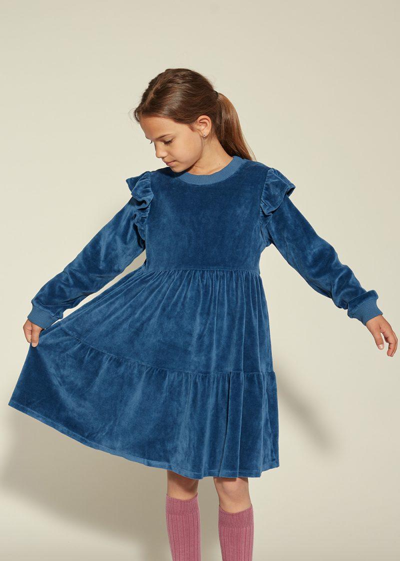 sukienka z weluru, sukienka na świeta, welour dress