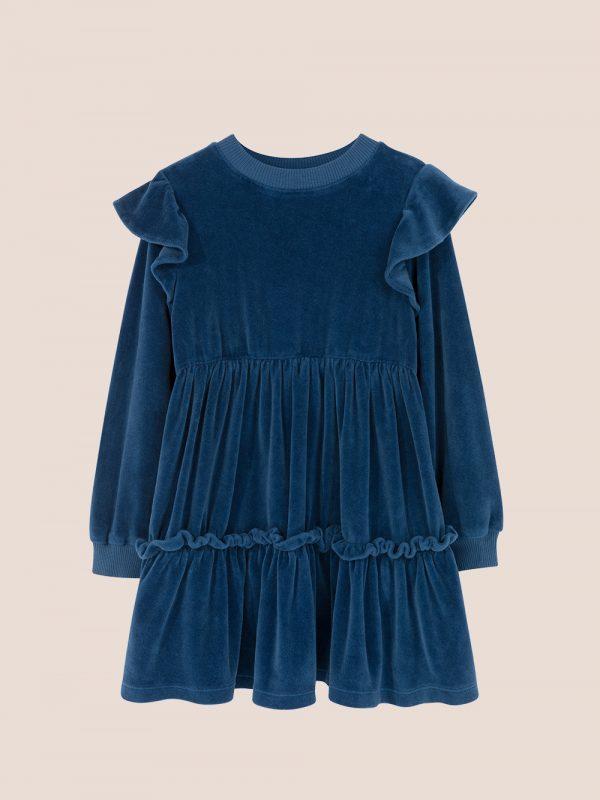 sukienka welurowa, velour dress, elegancka sukienka