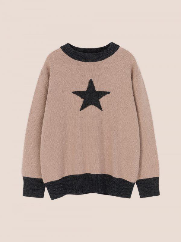 knitwear kids on the moon, swetry recykling