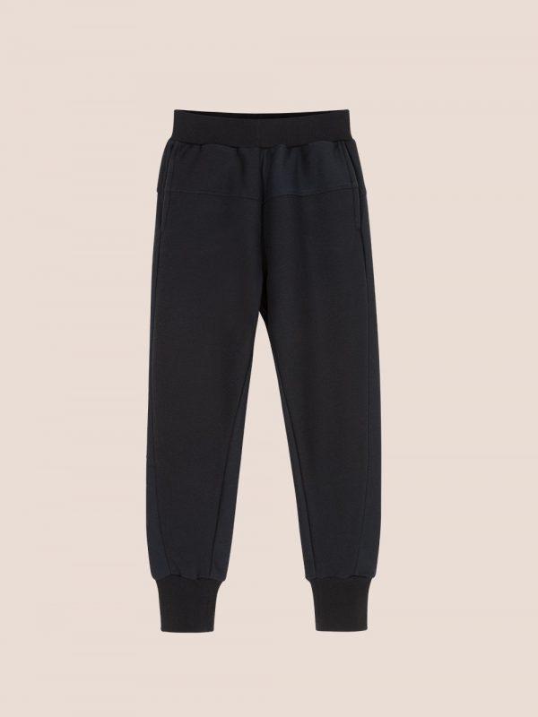 spodnie dresowe, czarne dresy, joggersy czarne