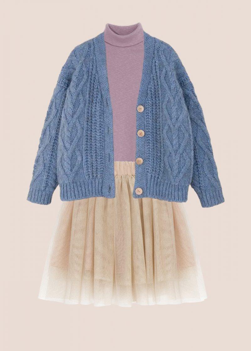 wełniany kardigan, sweter wełniany
